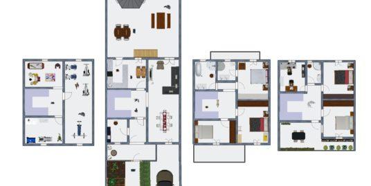 ESTRENA casa de 6 dormitoris i 4 banys al centre
